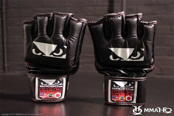 Bad Boy Pro Series Leather MMA Gloves